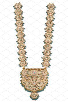 Ramnavami Necklace by Kailash Kumar on Crochet Necklace, Beaded Necklace, Gold Jewellery, Jewelry, Fashion Beauty, Asia, Traditional, Bridal, Creative
