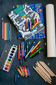 Stock your Art Supply Cupboard for Summer Break. Here's a Guide to the Essentials.