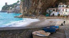 Furore, en la costa de Amalfi, Italia