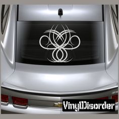 Tribal Pinstripe Wall Decal - Vinyl Decal - Car Decal - 234