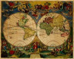 Map of the World, 1683 https://www.battlemaps.us