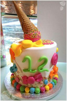 Melted ice cream cake!!!!