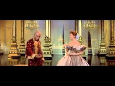 """Yul Brynner and Deborah Kerr perform """"Shall We Dance"""" from the 1956 film version of """"The King and I."""""""