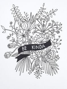 Be Kinda floral print. Limited Edition of 20. Signed and numbered by the artist. Beautifully printed with 8-color UltraChrome K3™ inks on 300 gsm Hot Press Bri
