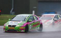 BTCC Thruxton 2012 Cummins, Touring, Race Cars, British, Racing, Vehicles, Cars, Drag Race Cars, Running
