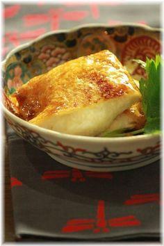 とろろ稲荷の照り焼き、和食/Teriyaki Aburaage (Tofu Porch)