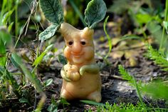 Mandrake sculpture  mandragora doll  magic plant  ooak