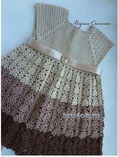 Sweet Nothings Crochet: MAISIE's BABY DRESS