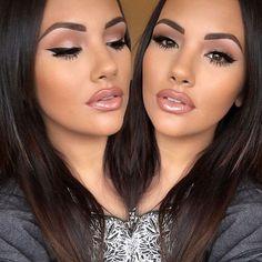 maquillage de fête jolie idée #makeup #beauty