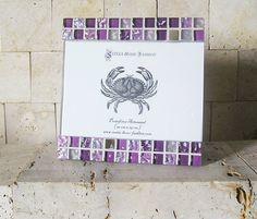 Portafotos Mosaico Lavanda 15x20 por SoniaHomeFashion en Etsy, €27.00