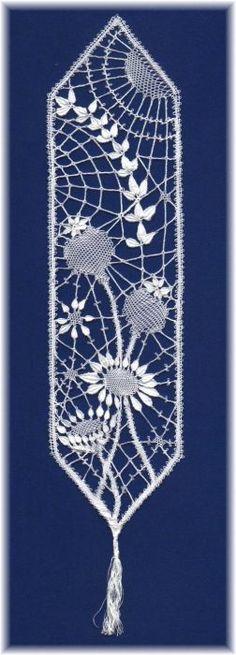 Bedfordshire #Lace bookmark