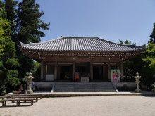 宮島の神山弥山の御山神社 奥の院
