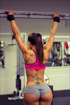 Not a fan of the tattoo but can I have a body like THAT!? ktnxbye