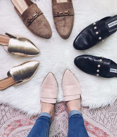 Your Lovely Guide To: Mules For Fall #oxfordshoesoutfit #sportsandalswomen