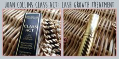 Joan Collins: Lash Growth Treatment Review! A great addition to your make-up collection.  #Eyes #Eyelashes #Makeup