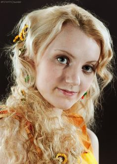 Evanna Lynch, actress who portrayed Luna Lovegood in the Harry Potter films! Description from pinterest.com. I searched for this on bing.com/images