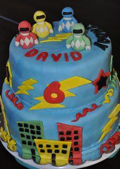 Power Ranger's Cake by Summer's Sweet Treats