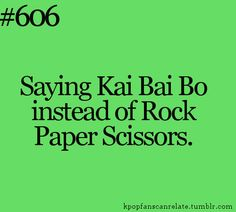 #EXOShowtime #RockPaperScissors
