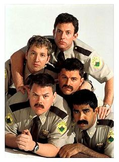 Super Troopers, watch it right meow if u haven't seen it! Movie Memes, Funny Movies, Great Movies, Super Troopers Meow, The Trooper, Right Meow, Trivia Quiz, Hollywood, Funny People