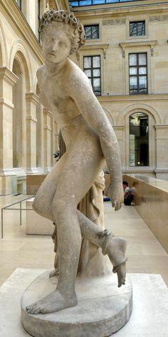 Charles-François Lebœuf (1792-1865) - Eurydice 1832. Louvre Museum