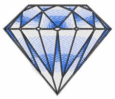 Clothing Embroidery Design: Diamond from Embroidery Patterns
