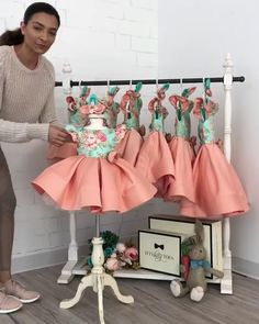 Tag a mom who's been eyeing this dress for her princess! Leila Dress in In stock and ready to ship Click the link in bio to shop Worldwide Delivery ittybittytoes Little Girl Dresses, Girls Dresses, Flower Girl Dresses, Baby Girl Fashion, Kids Fashion, Dress Anak, Baby Dress Patterns, Kids Frocks, Leila