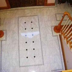 Foyer Tile Design Ideas entrywayfoyer with wood floor and tile inlay cheap alternative to break up wood Amazing Foyer Tile Floor Designs Foyer Tile Design Ideas