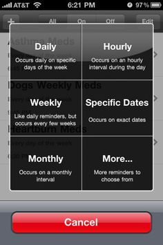 RxmindMe is the iPhone Prescription Reminder App for your iPhone! Keep a record of your prescriptions on you at all times AND set reminders.