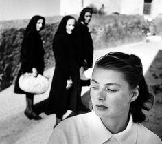Ingrid Bergman at Stromboli, 1949 © The Gordon Parks Foundation