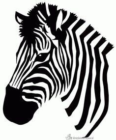 Zebra Art Vector | art painting | Pinterest | Print templates, Zebra ...