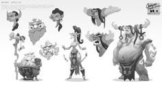 ArtStation - sketches, terry wei