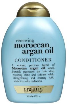 Organix Renewing Moroccan Argan Oil Shampoo 13 fl oz * Details can be found by clicking on the image. (This is an affiliate link) Organix Shampoo, Argan Oil Conditioner, Argan Oil Uses For Hair, Argan Oil Hair, Hair Oil, Diy Moisturizer, Natural Moisturizer, Natural Vitamin E, Outfits