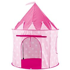 Princess Mad kids can enjoy pretend play in this cool Pink Star Pop Up Play Tent. A great gift to shield them from the sun too!