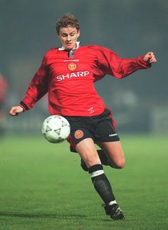 Ole Gunnar Solskjær of Manchester United