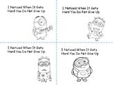 Affirmations for Students MINION THEME  Growth Mindset and  Leader in Me
