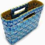 Come creare borse con giornali riciclati - Atelier del Riciclo - Idee per l'Eco Lifestyle