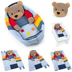 Sterntaler Kuschelnest Basti 100 x 130 cm >> Mehr Spaß und Funktion für's Baby >> verwendbar als Kuschelnest, Krabbeldecke und Bettchenverkleinerer… | Pinteres…
