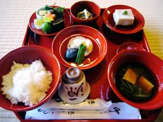 天龍寺の精進料理 - 京男雑記帳