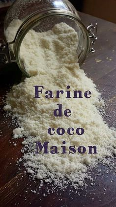 DIY: Farine de coco maison - My healthy sweetness Okara Recipes, Coconut Recipes, Raw Food Recipes, Brunch Recipes, Gluten Free Cooking, Healthy Cooking, Christmas Brunch Menu, Healthy Brunch, Brunch Food