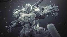 "CGI 3D Breakdown HD: ""Making of War Machine"" by Joe Grundfast"