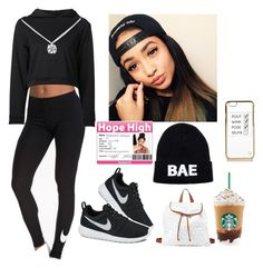 """""""First day of school ~Makayla"""" by r0yal-blessings ❤ liked on Polyvore"""