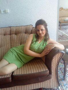 Israeli Girl Lying On Sofa
