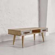 DANCE bord med 2 lådor, designad av danska KARUP