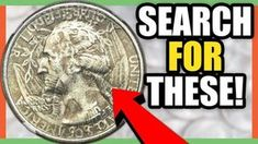 These are 6 valuable quarters to look for in circulation. We look at rare Washington quarters coins worth money. For more valuable coin tips give the video a. Old Coins Worth Money, Old Money, Show Me The Money, How To Get Money, Us Coins, Gold Coins, Old Coins Value, Valuable Coins, Valuable Pennies