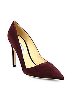 Saks Fifth Avenue Made in Italy - Erika Suede Point-Toe Pumps