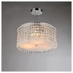 Warehouse of Tiffany Garcia 4 Light Crystal Chandelier