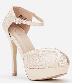 Womens Ladies Beige High Heel Ankle Strap Peep Toe Sandals Shoes Size UK 4,8 New  #shoes #sandals #beige #peeptoes #anklestrap #highheels #platform #mesh #patent #party #partyshoes #shopping #style #fashion #footwear #forsale #womens #womensfashion #ladies #ebay #ebayseller #ebayshop #ebaystore