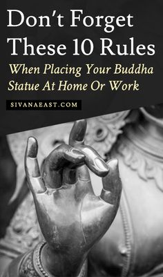 Vastu Vaastu Don't Forget These 10 Rules When Placing Your Buddha Statue At Home Or Work