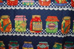 Vintage Farmers Market fruit canning jars by vintageinspiration, $12.00