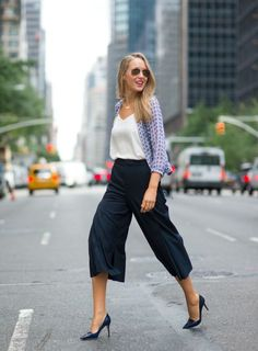 I am OBSESSED WITH THE IDEA OF culottes  for work